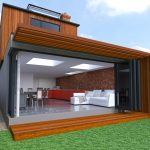 modern house extension Oxford rear